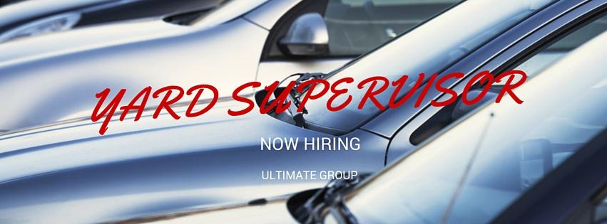 Image result for hiring Yard Supervisor